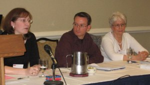 Meg, Mike, and Nancy at NEMA2009
