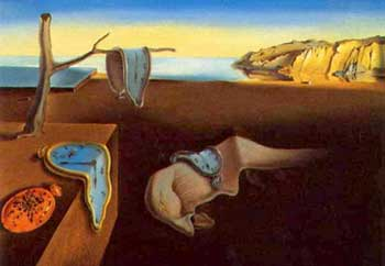 Persistence of Memory by Salvadore Dali