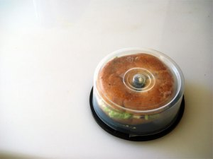 CD Spindle Sandwich