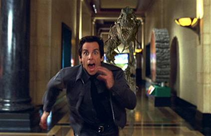 "Movie still from ""Night at the Museum"""