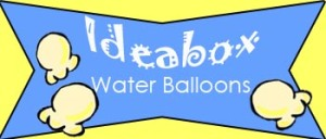 ideabox water balloons