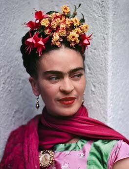 Photo of Frida Kahlo.  Click for source link