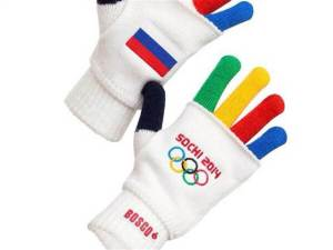 Pretty sure I had gloves just like this when I was 7, only there was a tiny knit teddy bear in a pocket instead of a Russian flag...