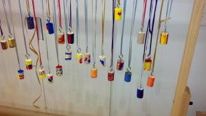 Final bird calls hanging up to dry, ready for a nature walk