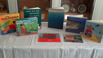 Fiction and nonfiction related to local MA history and natural history