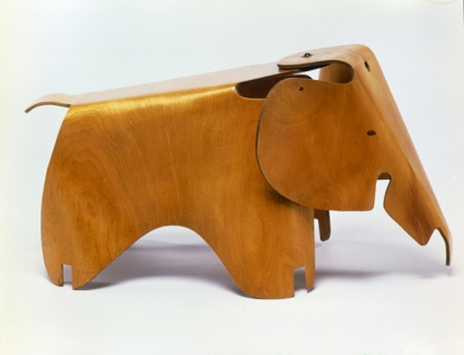 Charles Eames, Ray Eames. Molded Plywood Division, Evans Products Company (Venice, 1943-47). Elephant, 1945.