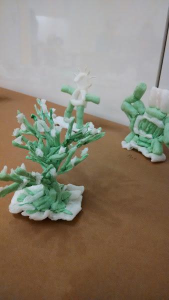 starchy sculptures 1