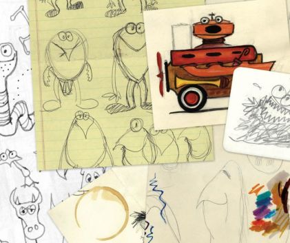 Doodles by Jim Henson, click for source.