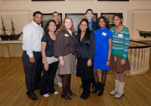 "PEM's ""Museum Action Corps"" intern program was a paid internship that targeted students from underserved communities, and featured a collaborative project each semester.  This one, from 2007, was an oral history video on the changing face of Salem."