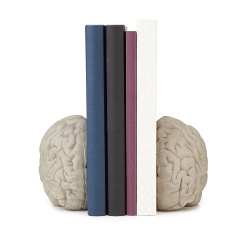 brain bookends