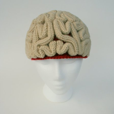 crochet brain